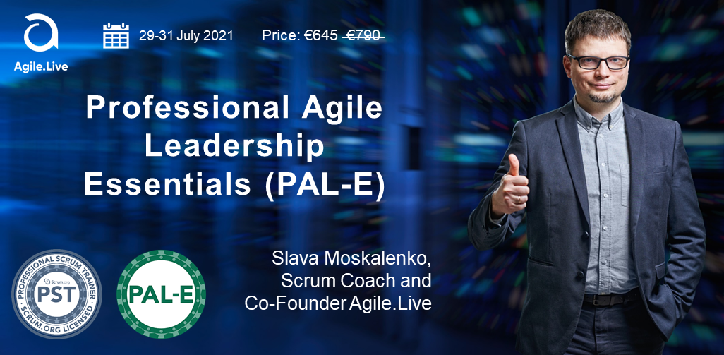 Registration for the Professional Agile Leadership Essentials Training is Open